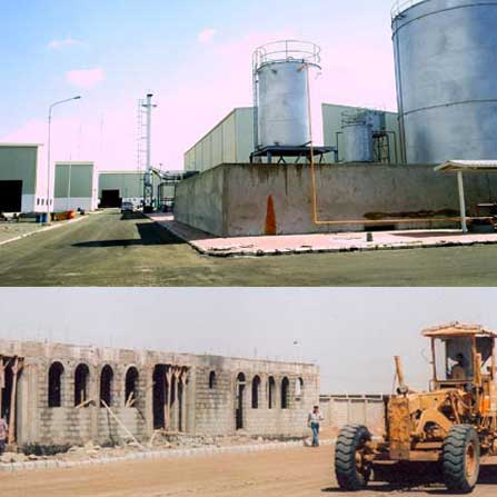 Yemen Factory Facilities, Yemen Building Construction & Installation Services, construction yemen