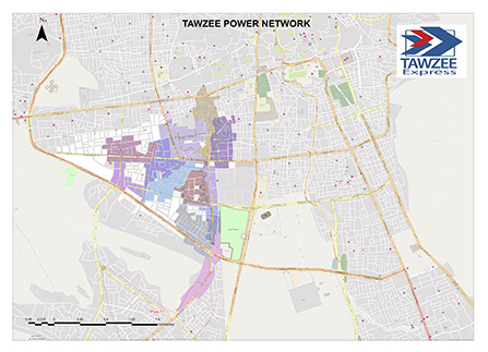 Tawzee power rental services Sana'a, Yemen.